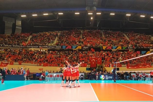 Volleybalsters Turkije naar Olympische Spelen in Tokio