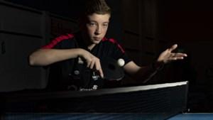 Westa-talent Barry Berben (16) grootverdiener bij LK tafeltennis