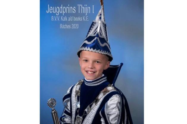 Thijn Conjaerts jeugdprins in Bocholtz