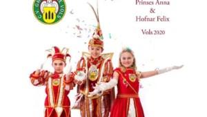 Silas Vandrey nieuwe jeugdprins CV de Grensülle Vaals
