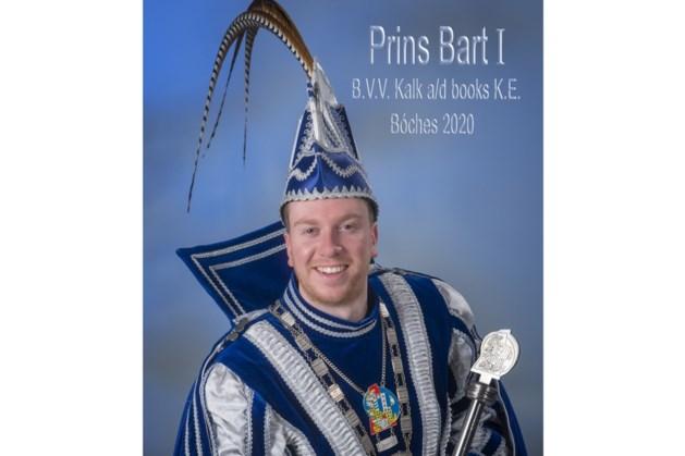 Bart Lux prins BVV Kalk aan de Books Bocholtz