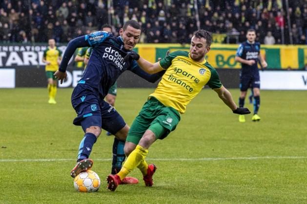 Spits Darfalou speelgerechtigd voor VVV