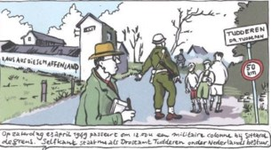 Ook de oorlog leent zich voor een stripverhaal