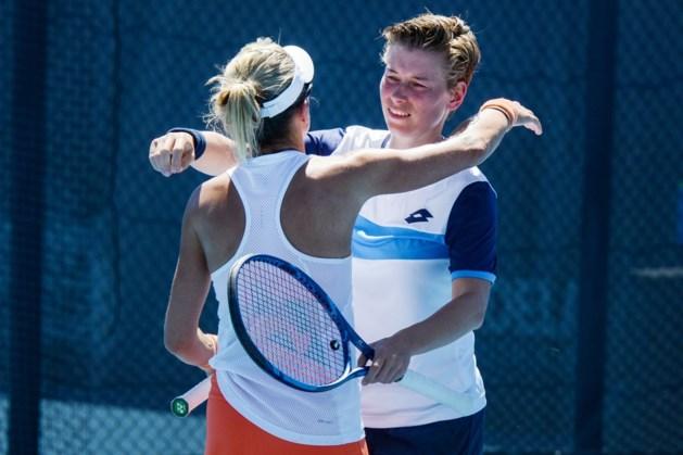 Tennisster Demi Schuurs met Kveta Peschke ronde verder in Adelaide
