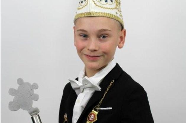 Jaysun Moes is jeugdprins van CV De Beeren
