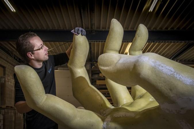 Bedrijf Blowups in Heijen maakt bijzondere blikvangers