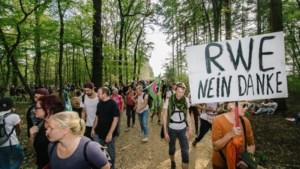 Hambacher bos wordt na kolenakkoord een 'schiereiland' in de bruinkoolmijn