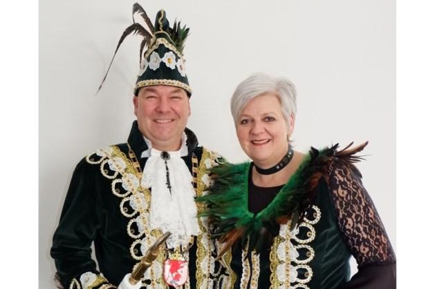 Egid III en Petra prinsenpaar CV de Kleindererre Sint Geertruid