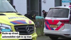 Ruzie op straat: automobilist rijdt in op man