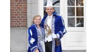 Gemeenteprins Barry en prinses Tessa heersen in Noorbeek
