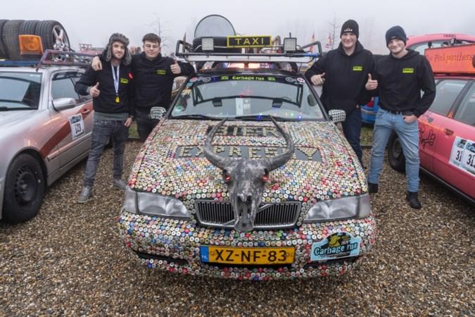 The Carbage Run vertrekt uit Limburg: een kwart krijgt panne, maar 95 procent haalt de finish