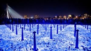 Landgraaf: lichtjestocht en onthulling kunstwerk Levenslicht