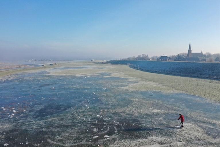 Eerste matige vorst van deze winter in Limburg gemeten