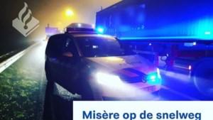 Ongeluk met drie auto's op A2 bij Roosteren