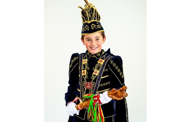 Joep Gubbels jeugdprins in Mheer