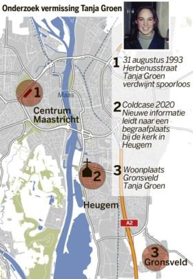 Geopend graf was kort voor verdwijning Tanja Groen gegraven