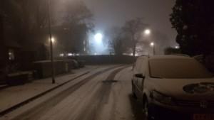 Eerste (dunne laagje) sneeuw van het jaar valt in Zuid-Limburg