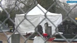 Video: Politie doet onderzoek op kerkhof in zaak sinds 1993 vermiste Tanja Groen