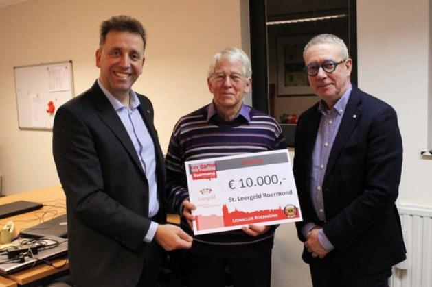 City Game Roermond doneert 10.000 euro aan stichting Leergeld
