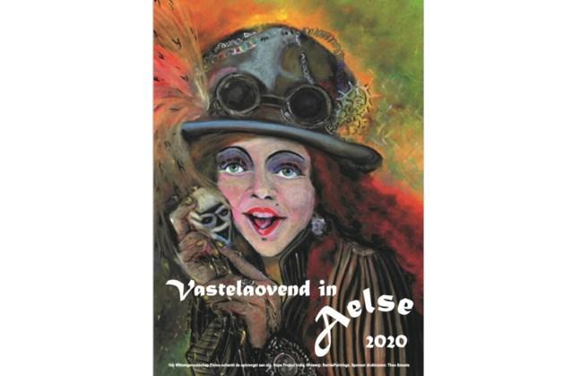 Carnavalsposter Elsloo te koop, opbrengst naar goed doel