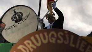 De Druugsjliepers uit Eijsden roepen hun Prins Carnaval uit