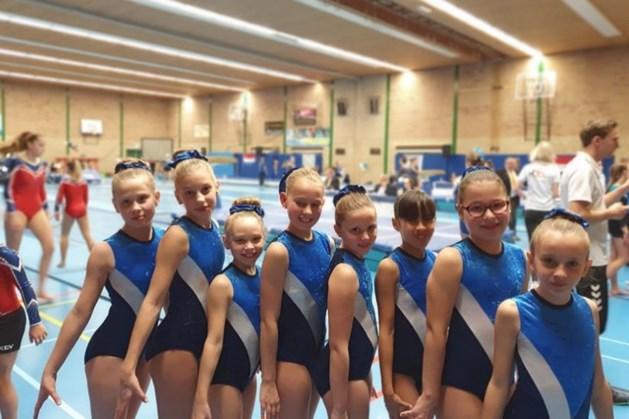 Blauwe boekje gymclub Wilhelmina Bocholtz ter ziele