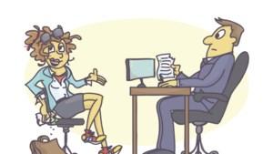 Wat moet je absoluut niet doen tijdens een sollicitatiegesprek? Dit zijn de grootste sollicitatieblunders