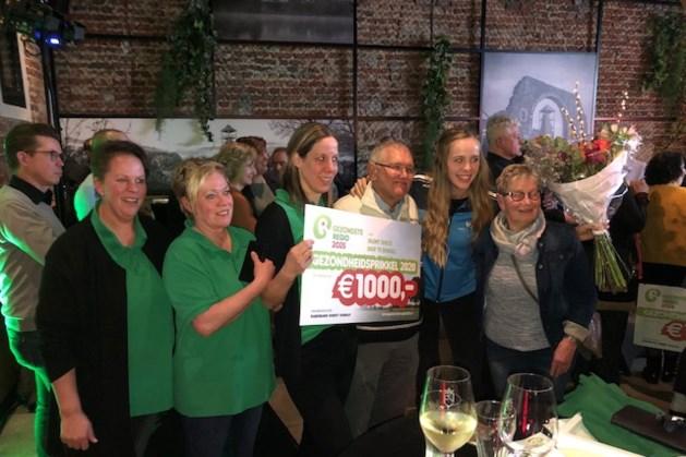 Cheques Gezondste Regio voor vijf projecten Horst