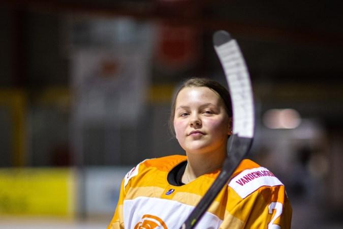 Geleens ijshockeytalent Abigail Liska: iets minder lachen; iets meer scoren