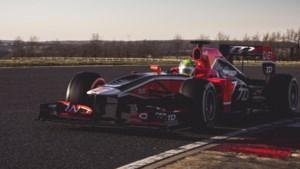 Voormalige Formule 1 auto, als tweedehandsje te koop