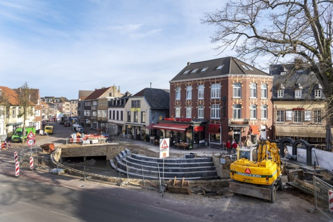 Drukke, doorgaande Dorpsstraat in Gulpen wordt rood én 30-kilometer-weg