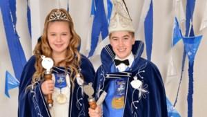 Maxim en Alicia vormen jeugdprinsenpaar van de Spoeëkejaegers