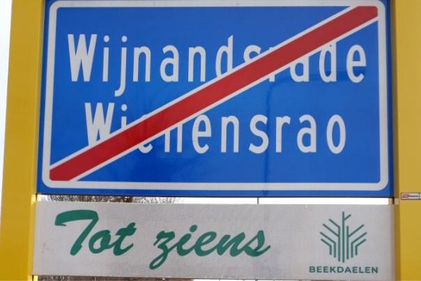 Spellingsfout op plaatsnaamborden in Wijnandsrade: borden worden aangepast