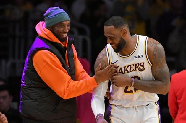 Sportwereld diep geschokt door overlijden van basketballegende Kobe Bryant