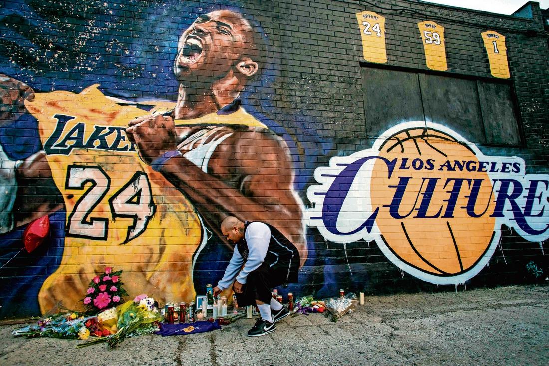 'Kobe was voor mij een superheld'