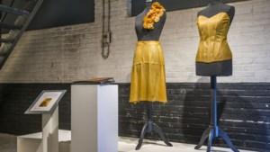 In De Kantfabriek in Horst zie je allerlei vernuftige kleding: van een sportshirt met sensoren tot een rok van appelleer