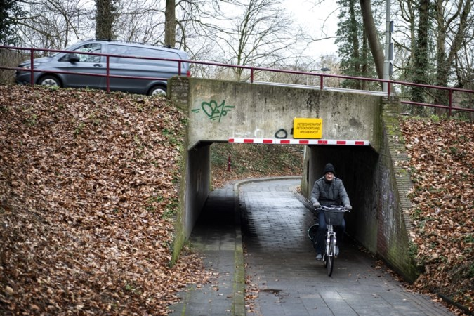 Sluiting teruggedraaid: Kerkrade houdt fiets- en wandeltunnel bij Wijngracht voorlopig toch open
