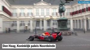 Video: Formule 1-bolides rijden langs Paleis Noordeinde en over Scheveningse strand