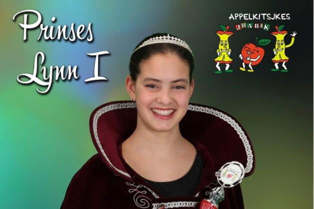 Prinses Lynn I zaterdag in optocht Jabeek