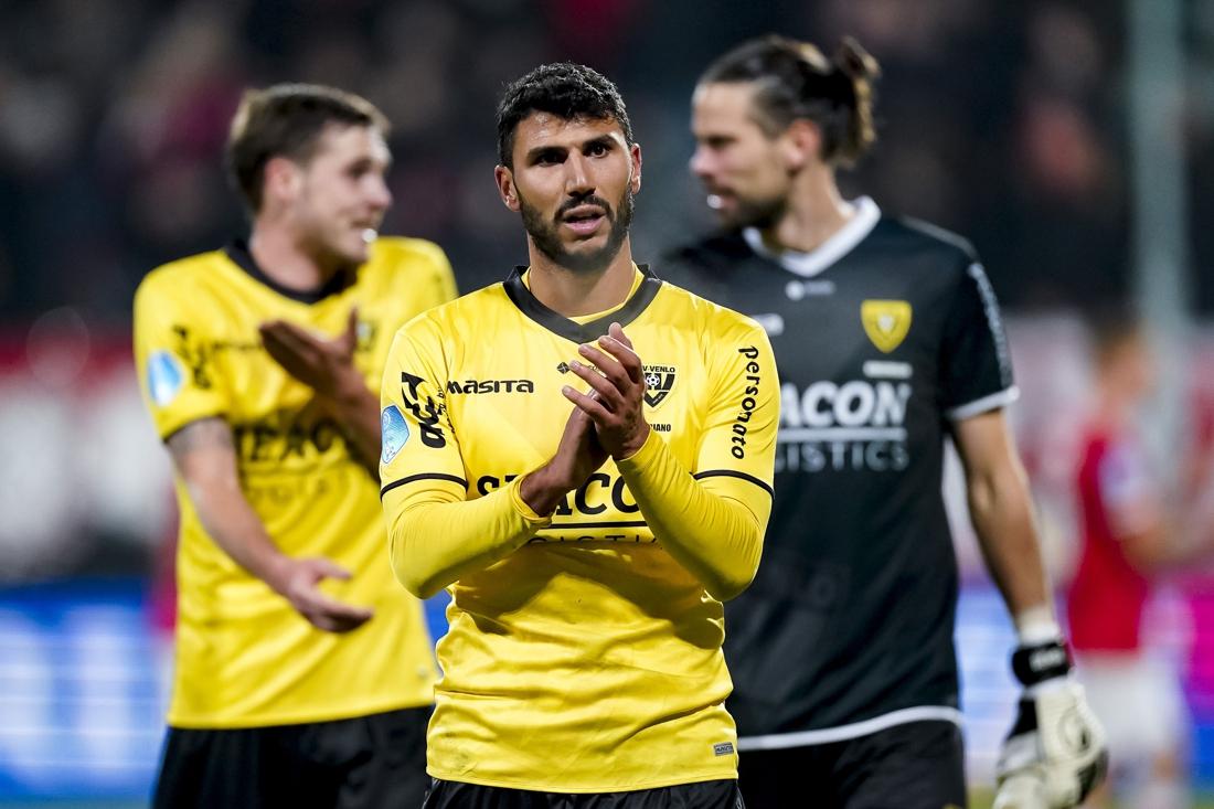 VVV laat aanvaller Soriano naar Israël gaan