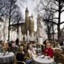 Terrassen in Maastricht worden dan toch ingedeeld via loodlijnen, 't Kläöske moet nu afwachten