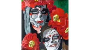 Mexicaanse dodenmaskers inspiratiebron Landgraafposter 2020