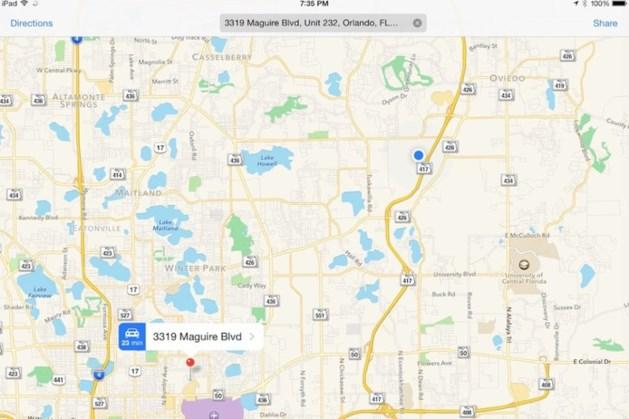 Apple verbetert navigatiekaarten: binnenkort ook in Europa