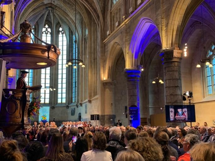 Eredoctoraten uitgereikt tijdens jaarviering Universiteit Maastricht