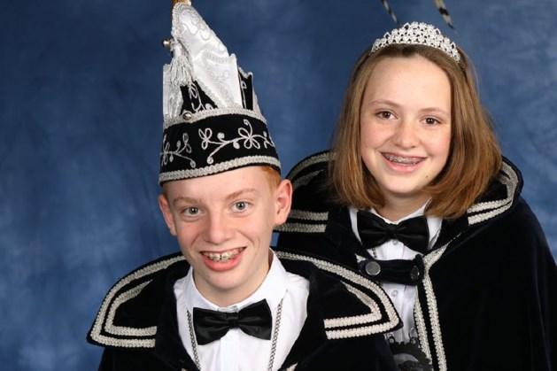 Gianni en Marike nieuw jeugdprinsenpaar bij de Geiten
