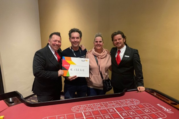 Kassa! Man (49) wint ruim 132.000 euro in Holland Casino