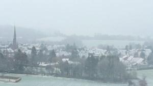Sneeuw op meerdere plekken in Zuid-Limburg