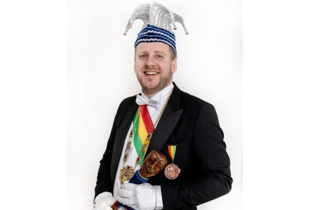Wim I uitgeroepen als prins van De Blouwe vaan Wolder
