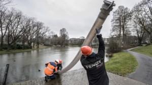 Waterschap plaatst pompen in provincie vanwege hoge stand Maas