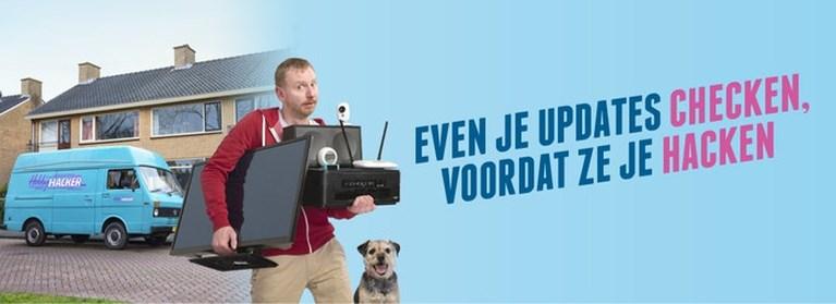 Helft Nederlanders vergeet updates of stelt ze uit